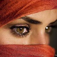 Красота женских глаз